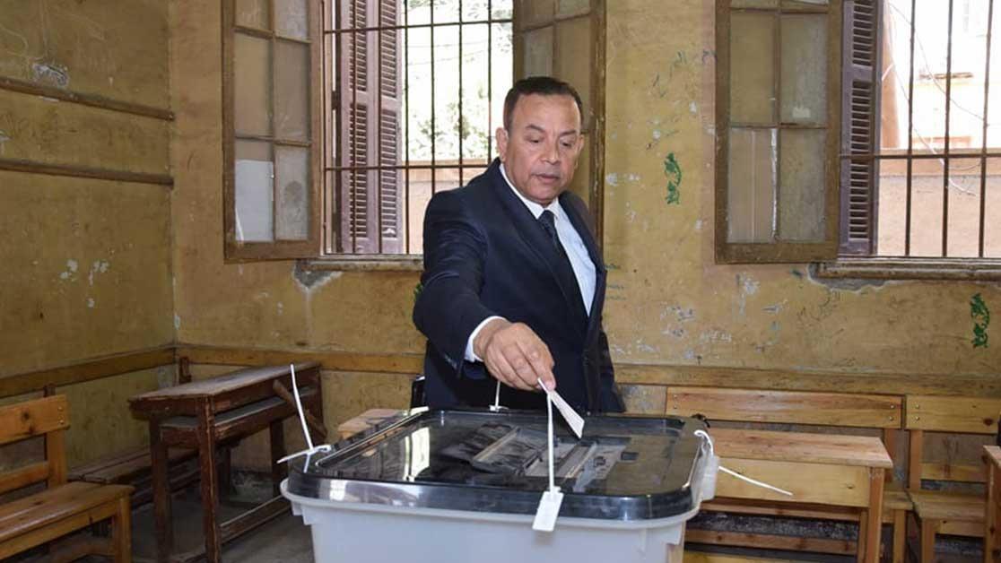 رئيس جامعة المنوفية ينتخب: «حق دستوري كفله القانون»
