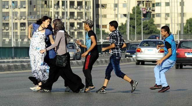 «شُفت تحرش»: 136 واقعة ثاني أيام العيد بوسط البلد