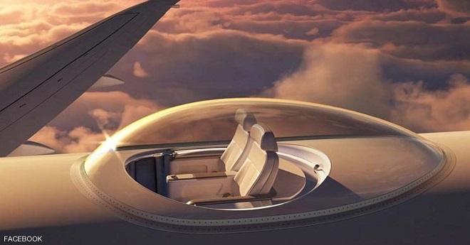«سكاي دك».. مفهوم جديد لمقاعد الطائرات