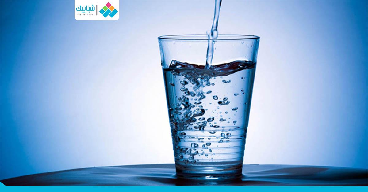 فوائد شُرب المياه «على معدة فاضية»