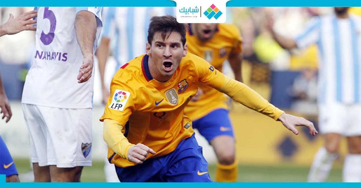 شاهد  أهداف مباراة برشلونة ومالاجا (2-1)