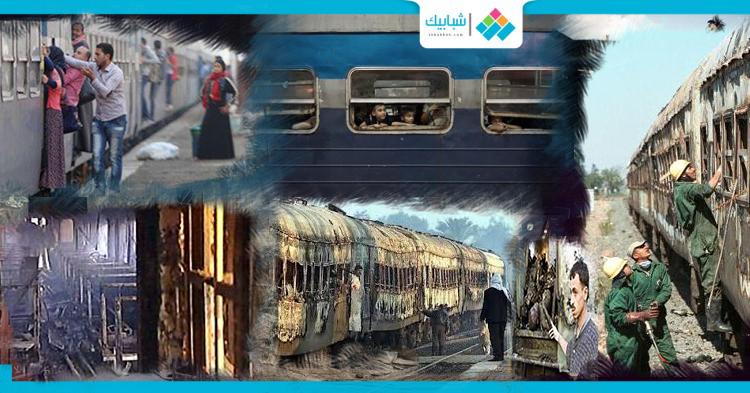 16 عاما على حادث قطار أحرق قلوب المصريين