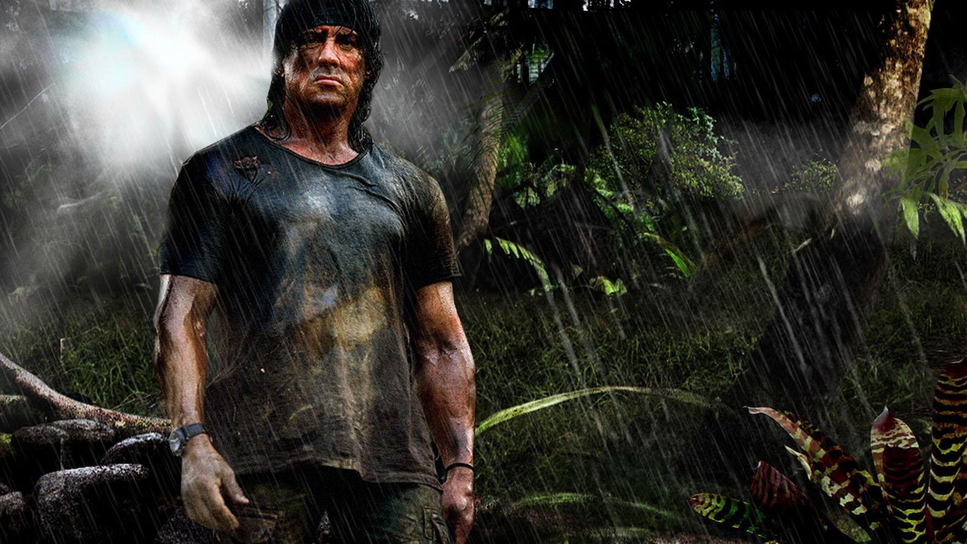الليلة.. «سيلفستر ستالون» يساعد أهل بورما في «Rambo IV»