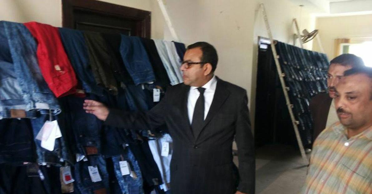 جامعة بني سويف تقيم معرضا خيريا لذوي الإعاقة يتضمن 3000 قطعة ملابس