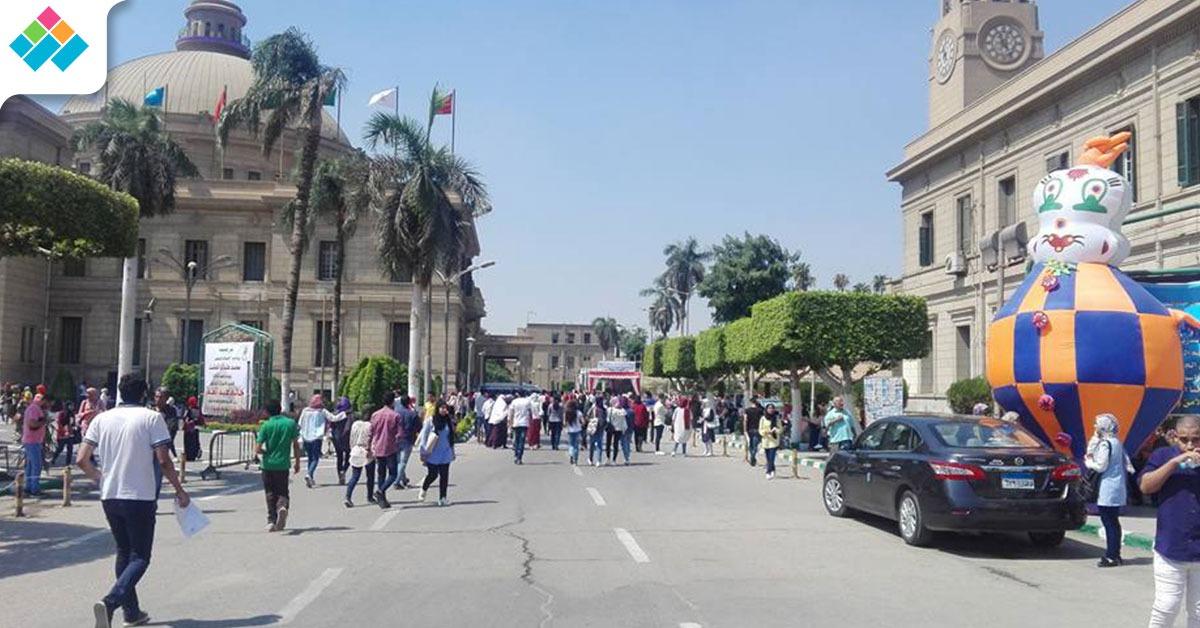 المشهد كاملا.. هكذا ظهرت جامعة القاهرة في اليوم الدراسي الأول