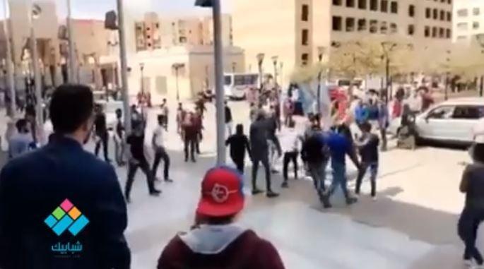 خناقة بالسكاكين بين الطلاب في حرم جامعة 6 أكتوبر