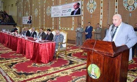 رئيس جامعة مدينة السادات يشهد تدشين مبادرة «100 مليون صحة»