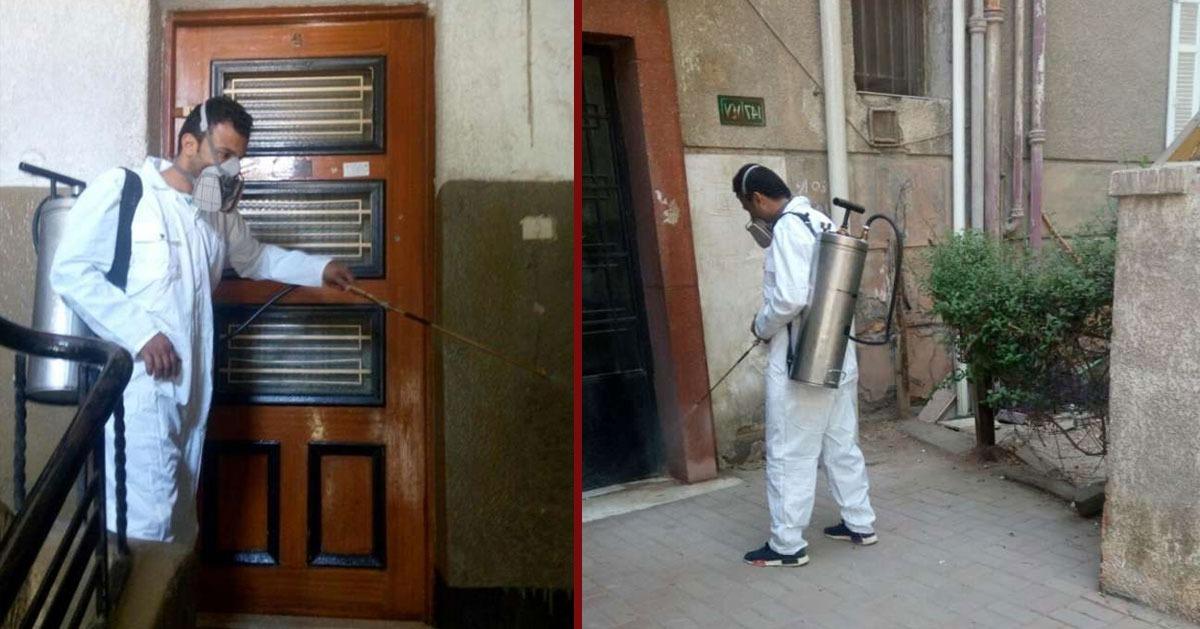 وزارة الصحة تنتفض من أجل «قملة» في المعادي (صور)