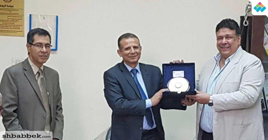 نائب رئيس جامعة طنطا: نظام متطور لتشغيل المعمل المركزي