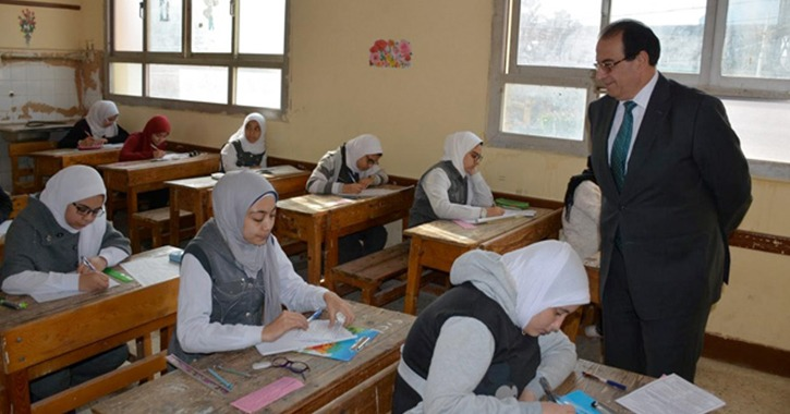 انطلاق امتحانات الفصل الدراسي الثاني للإعدادية بمحافظة مطروح