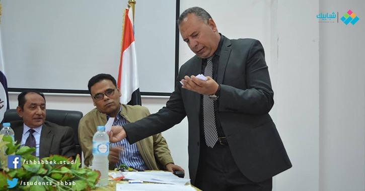 أحمد كامل رئيسا لاتحاد طلاب جامعة العريش