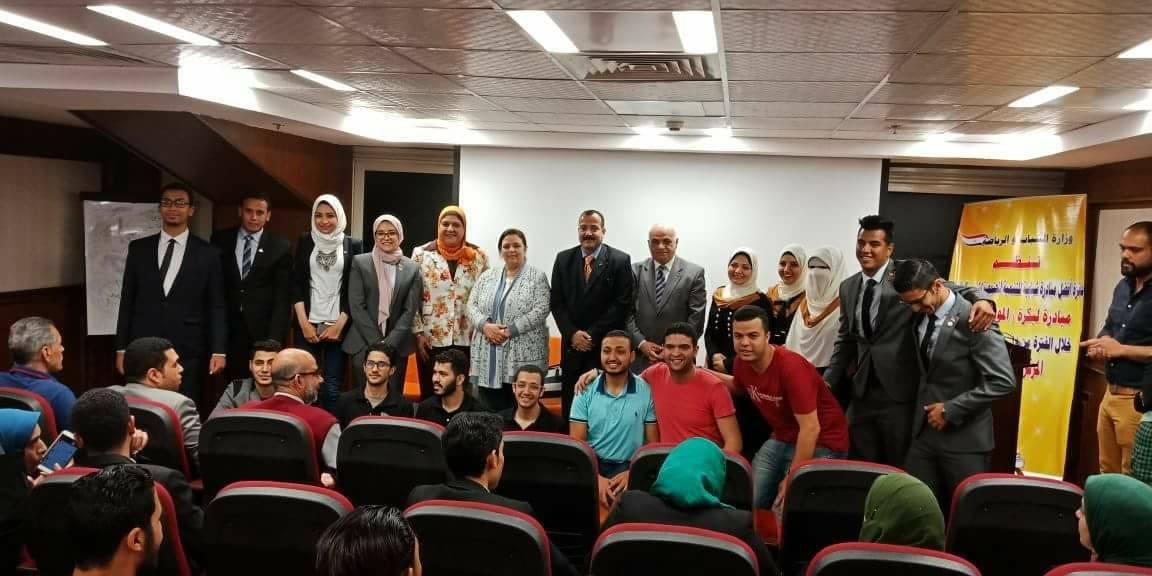 جامعة بنها تحصد المركز الرابع كأفضل مبادرة طلابية