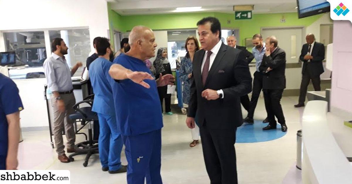 بالصور.. وزير التعليم العالي يزور مؤسسة مجدي يعقوب لعلاج أمراض القلب