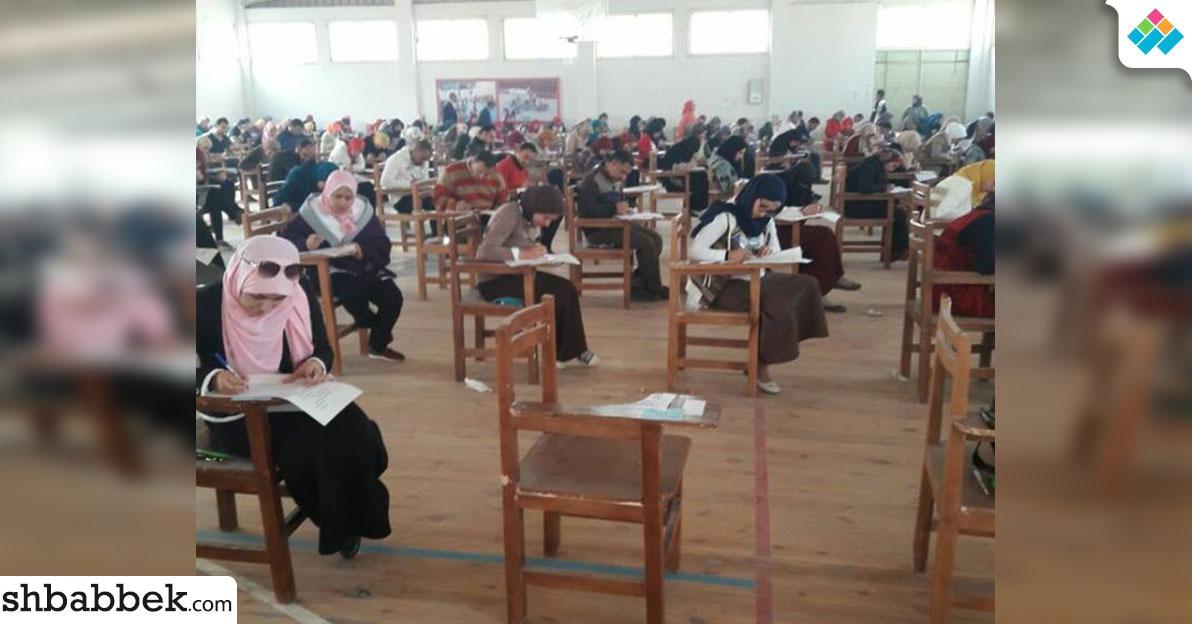 تأجيل امتحانات جامعة بني سويف لمدة ساعة بسبب أحوال الطقس