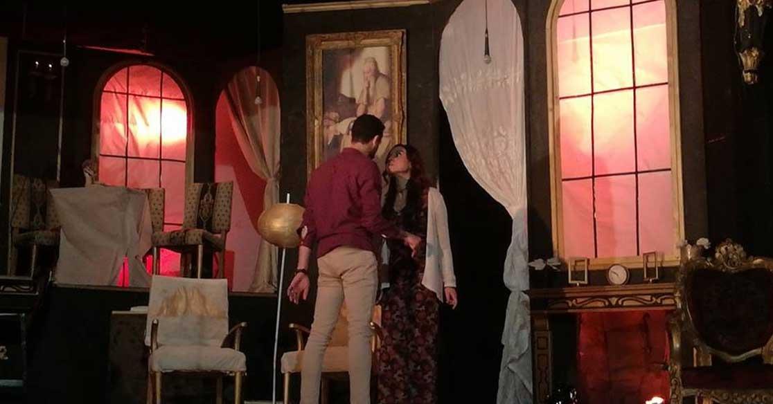 «سجن اختياري» عرض مسرحي لطلاب هندسة القاهرة بمهرجان الجامعة