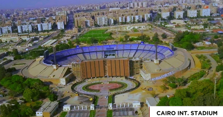 شاهد تطويرات استاد القاهرة استعدادا لكأس الأمم الأفريقية 2019
