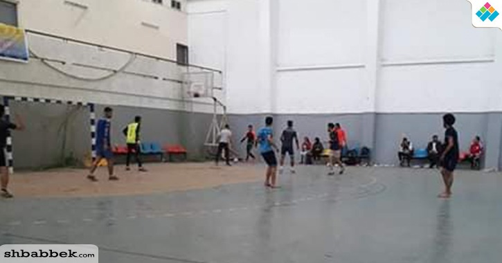 انطلاق أول دوري كرة قدم للأسر الطلابية بجامعة حلوان (صور)