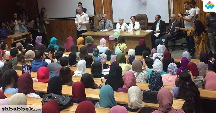 ندوة تعريفية ضمن فعاليات استقبال الطلاب الجدد بـ«إعلام القاهرة»