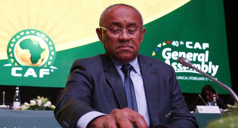 تفاصيل القبض على رئيس الاتحاد الأفريقي لكرة القدم أحمد أحمد