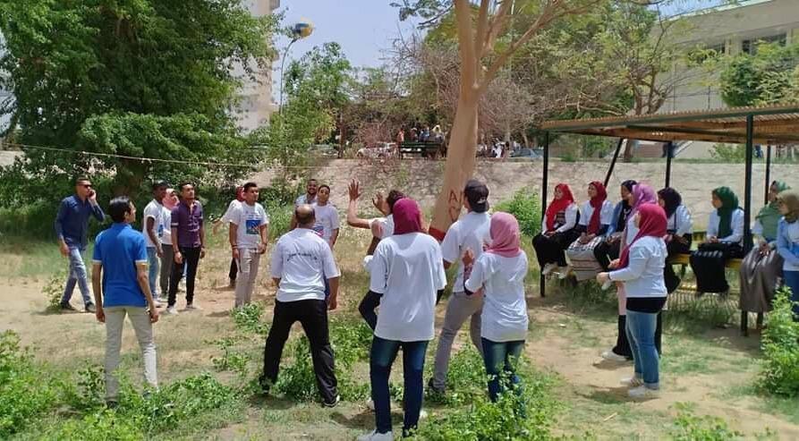 كلية خدمة اجتماعية أسوان تنظم «يوم الإنسانية والاحترام» (صور)