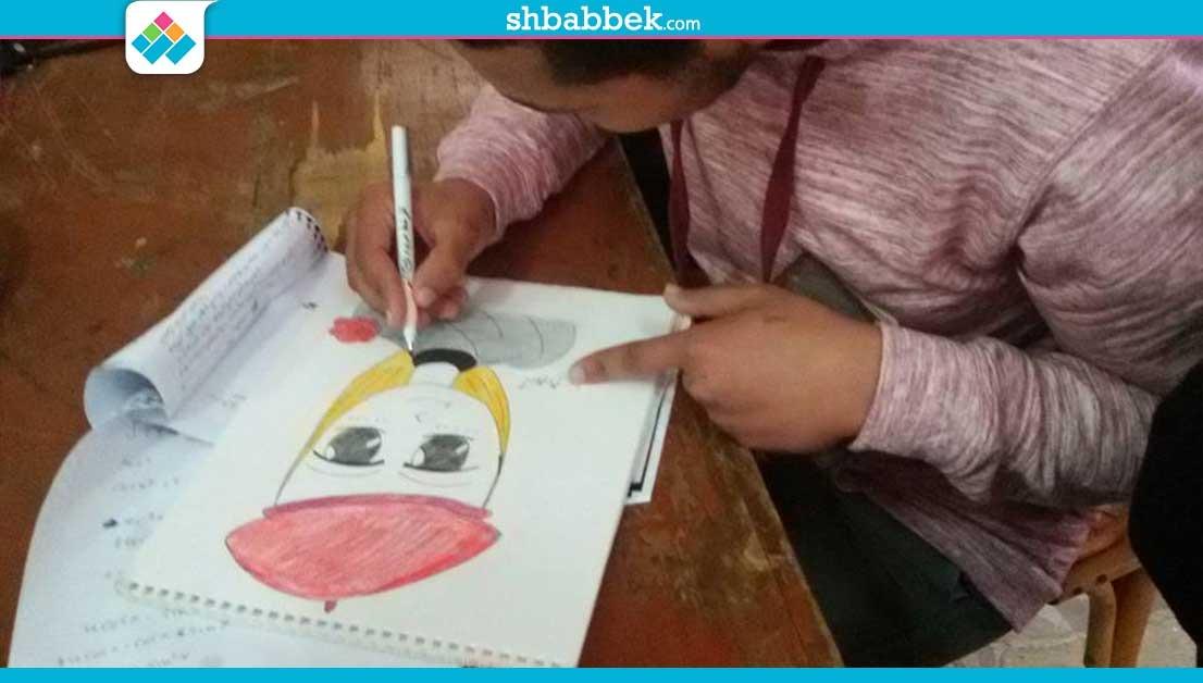 أسرة «كيان» تنظم ورشة لتعليم الرسم في كلية الزراعة جامعة المنصورة (صور)