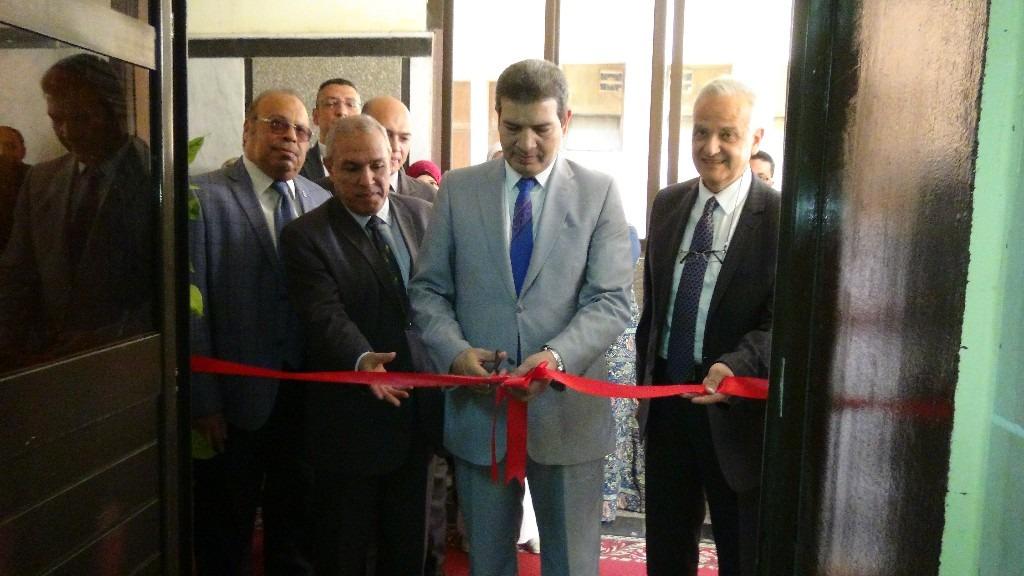 جامعة المنيا تفتتح وحدة تأهيل القلب والصدر