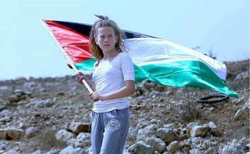 عهد التميمي.. جميلة فلسطين تشعل مواقع التواصل الاجتماعي