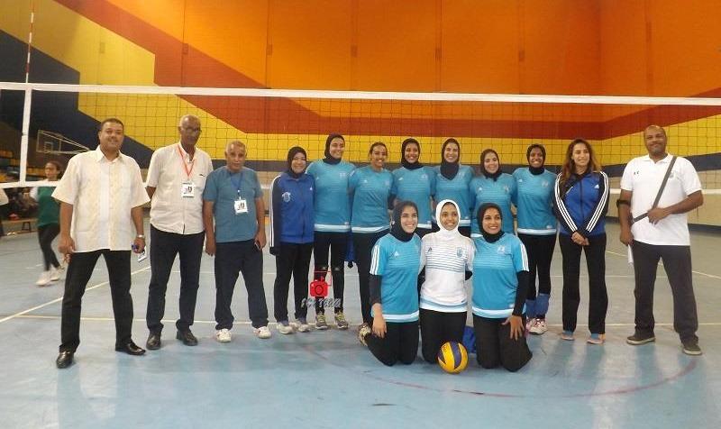 فوز جامعة القاهرة بالدرع العام في المسابقات الرياضية بأسبوع شباب الجامعات