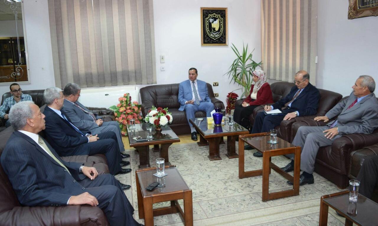 لجنة من «القومية للجودة والاعتماد» تزور جامعة سوهاج لاعتماد كلية العلوم