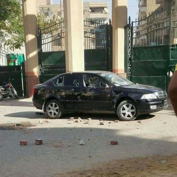 هجوم على نائب برلماني صفَع موظفة أمن بجامعة الفيوم