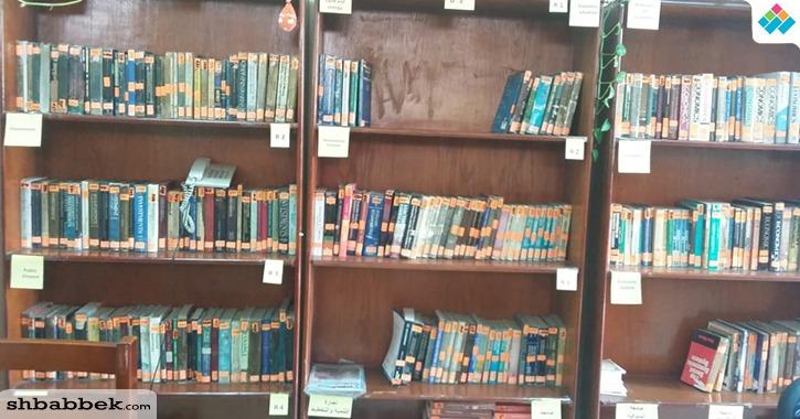 خدمات مكتبة كلية التجارة جامعة بنها.. اطلاع وثقافة ودورات تدريبية