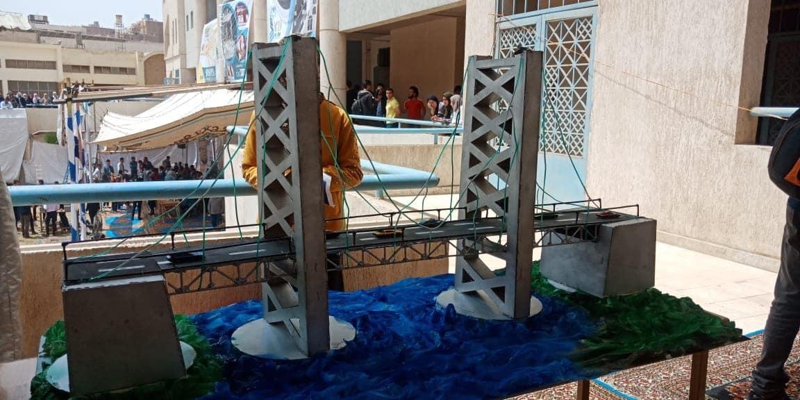 طلاب الهندسة بجامعات القاهرة الكبرى يتنافسون في مسابقة «Triple s» (صور)