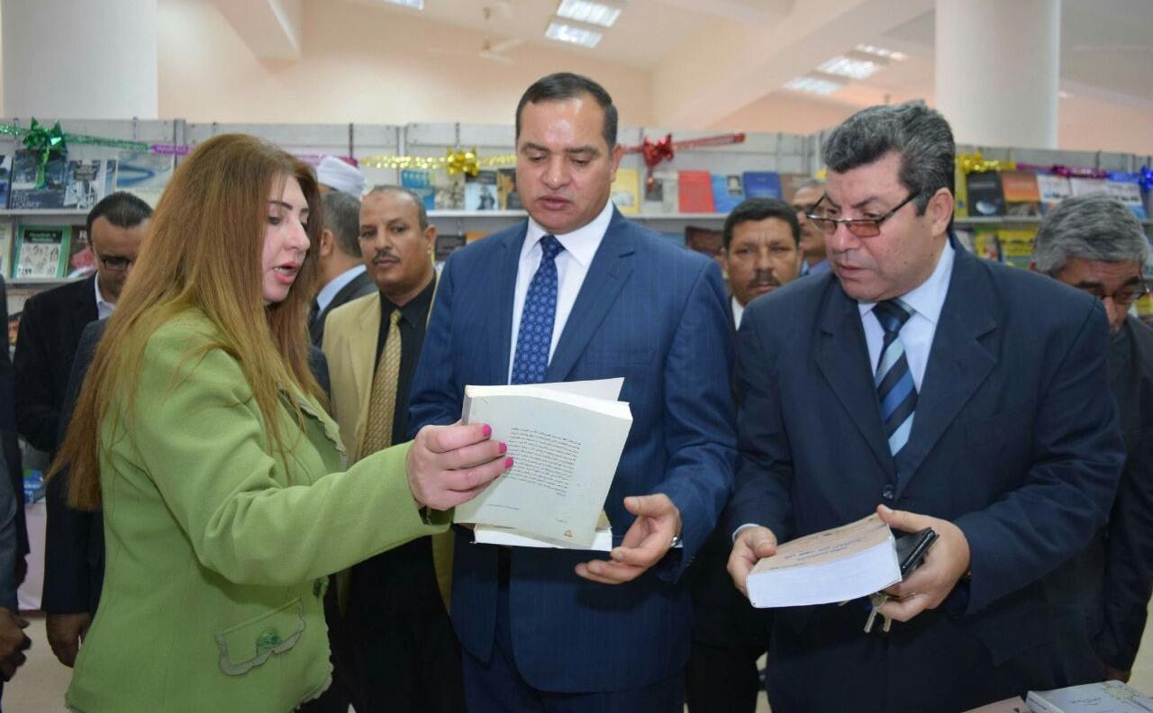 يضم 40 ألف كتاب.. افتتاح معرض القاهرة الدولي بجامعة سوهاج