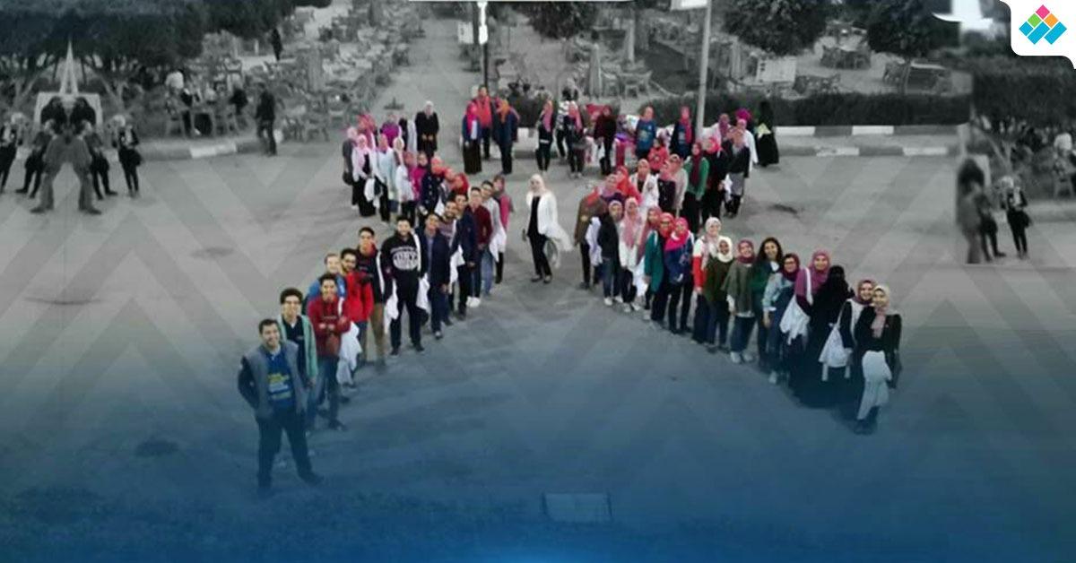حملة طلاب «EPSF» في جامعة دمنهور للتوعية بسرطان الثدي