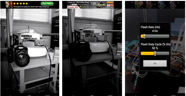 لكشف «كاميرات المراقبة السرية» داخل غرف الملابس.. تطبيق «glint finder» الحل