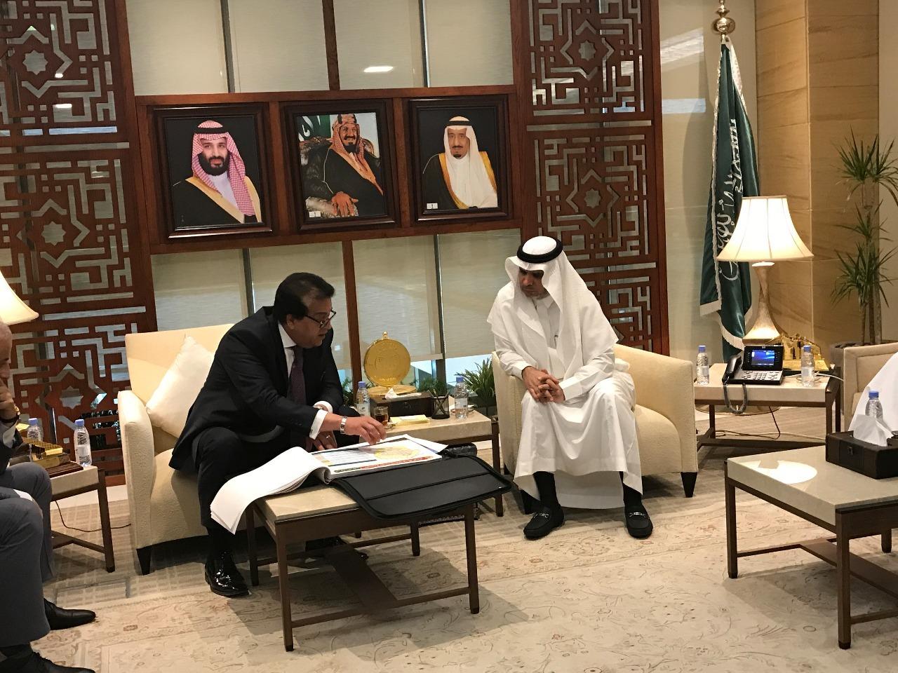 لزيادة التعاون.. وزير التعليم العالي يلتقي نظيره السعودي