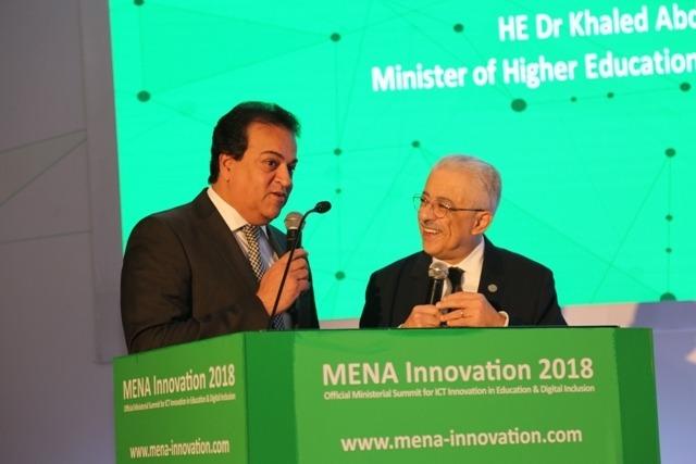 وزيرا التعليم والتعليم العالي يفتتحان «قمة الابتكار في الشرق الأوسط»