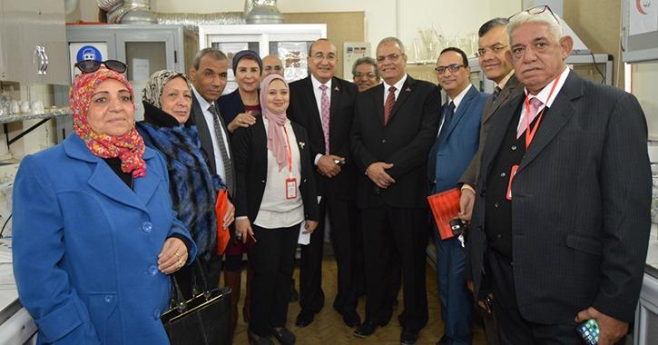 افتتاح معمل «علوم النانو» بكلية تربية جامعة عين شمس