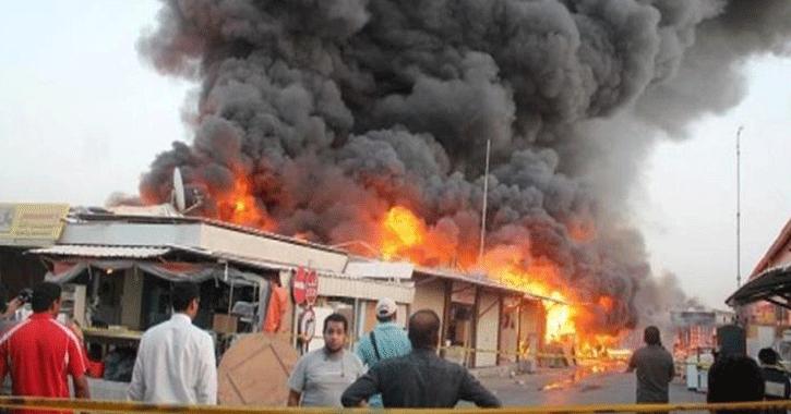 18 قتيلا وجريحا إثر تفجير انتحاري في بغداد