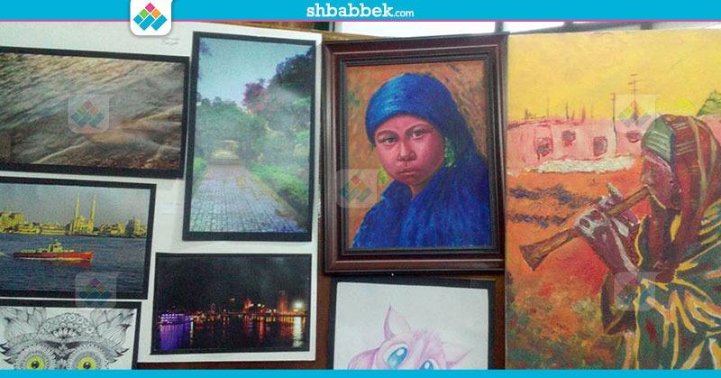 معرض الفنون التشكيلية بجامعة القاهرة