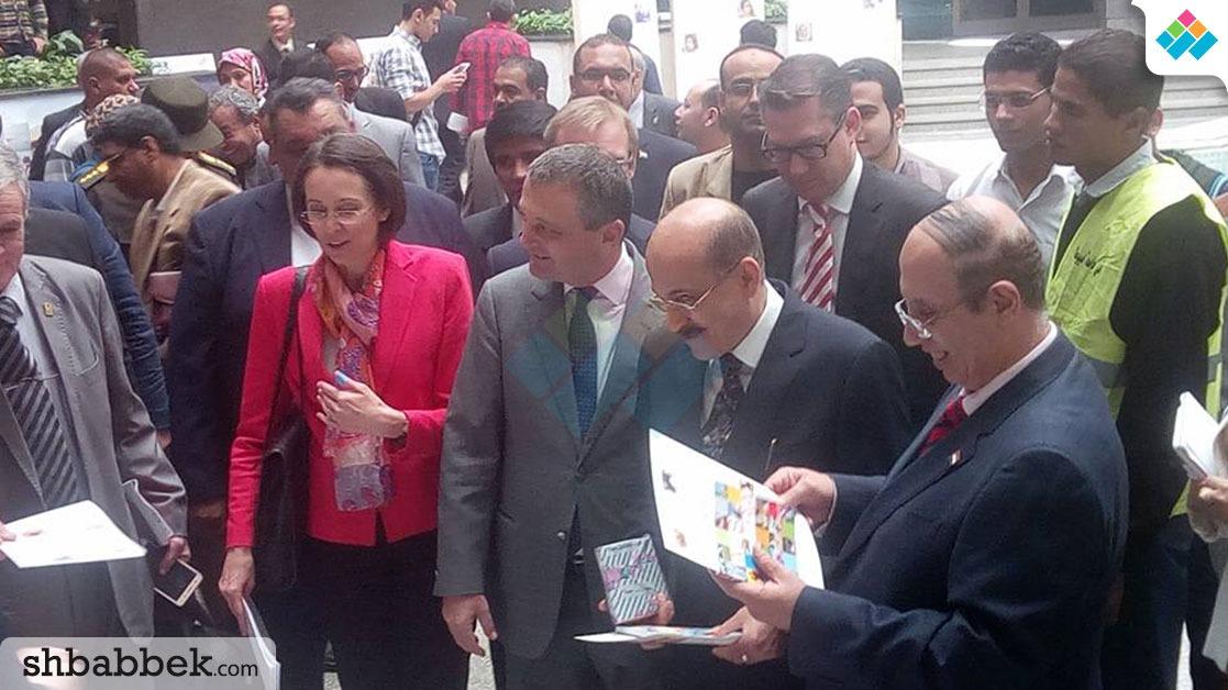 صور| انطلاق اليوم المصري النمساوي بجامعة أسيوط.. تعرف على الفقرات