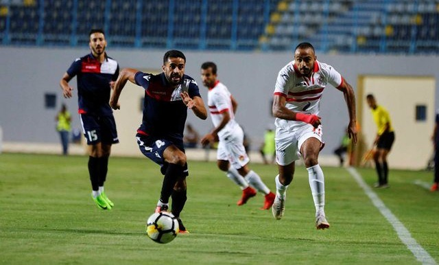 ملخص وأهداف مباراة الزمالك والنجوم اليوم 9 فبراير 2019
