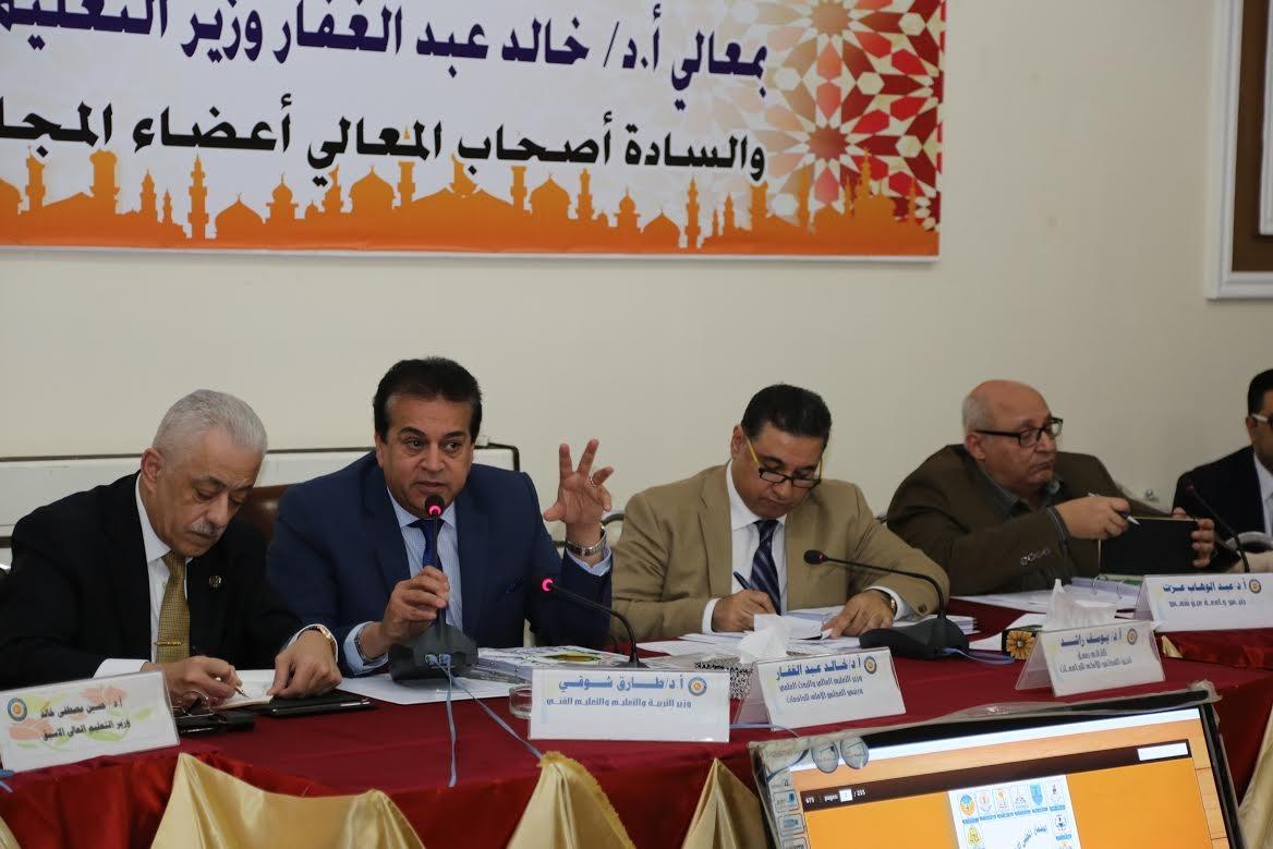 تفعيل التصحيح الإلكتروني في الجامعات المصرية العام المقبل