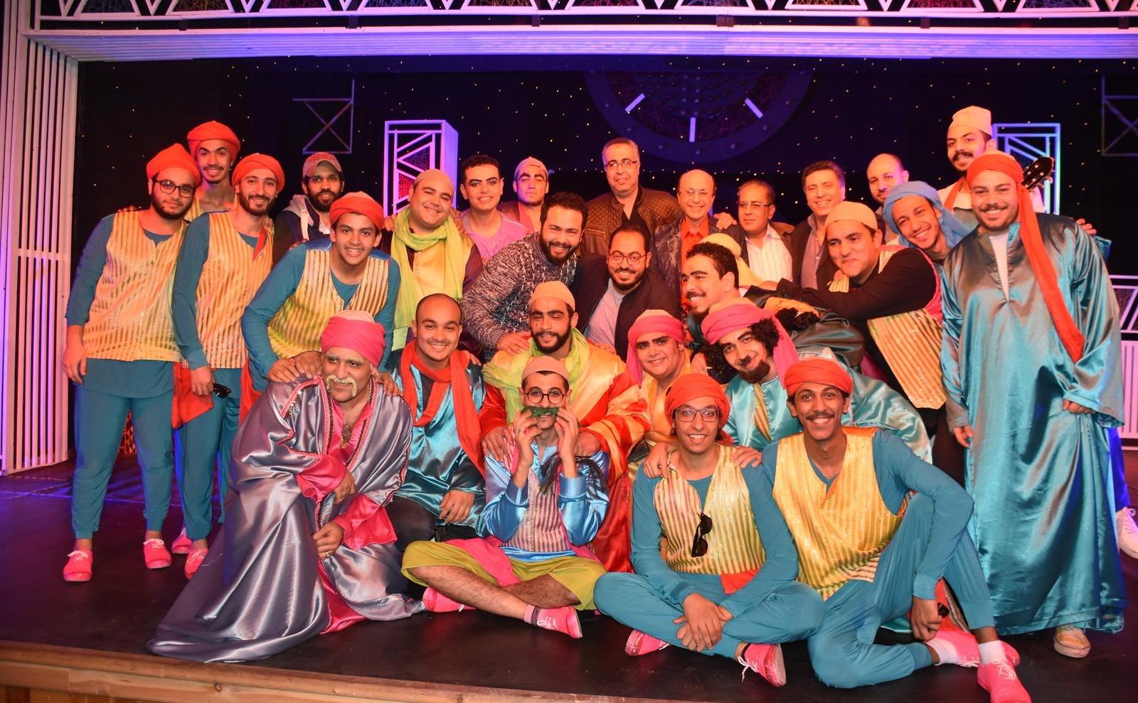 انطلاق فعاليات البيت الفني على مسرح جامعة عين شمس بـ«السيرة الهلامية»