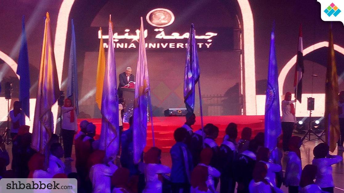 رئيس جامعة المنيا: تنمية المجتمع مرهون باستغلال طاقات الشباب