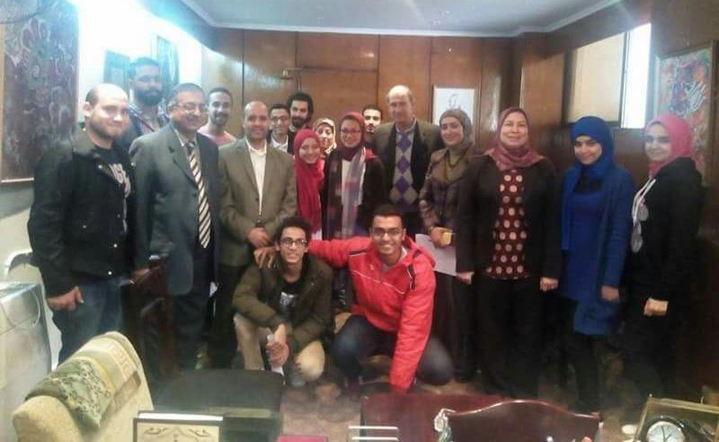 تعيين عمر محمد صدقي رئيسا لاتحاد طلاب «فنون تطبيقية حلوان»