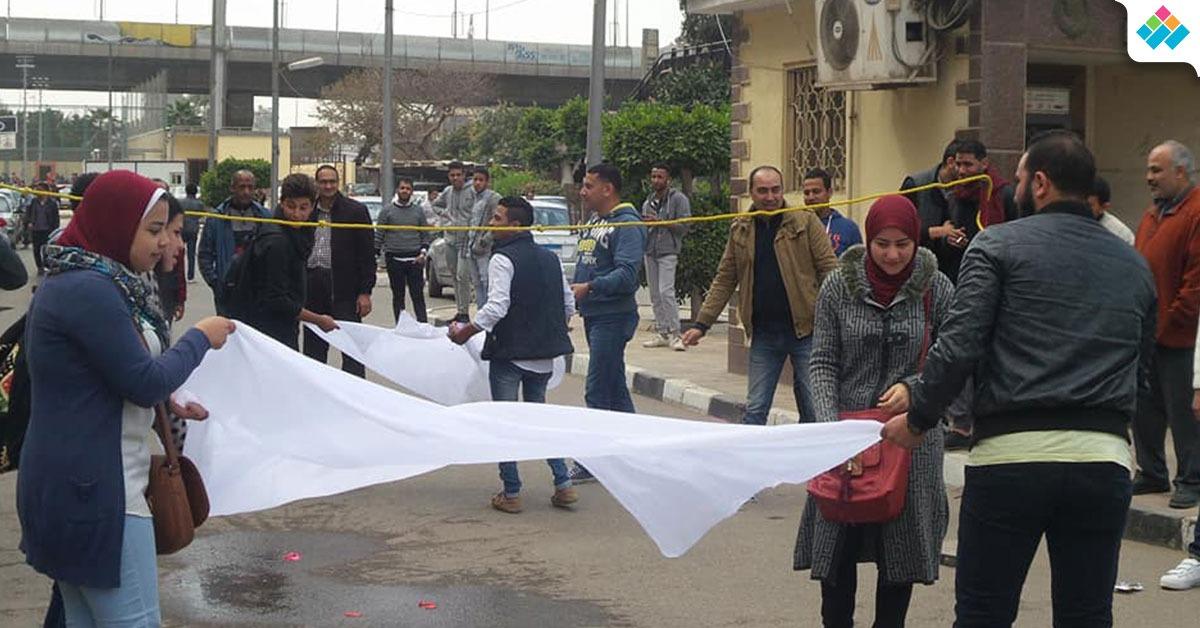 بالصور.. مهرجان ترفيهي لطلاب كلية التجارة جامعة عين شمس