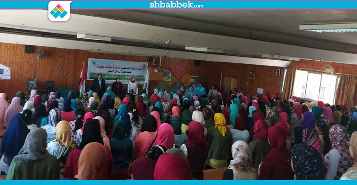 بالعروض الاستعراضية.. «أطفال أسيوط» تستقبل الطالبات الجدد (صور)
