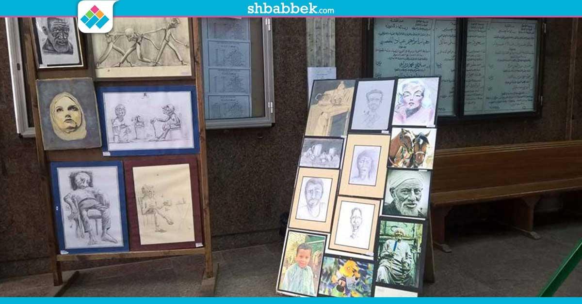 http://shbabbek.com/upload/صور| معرض فنون تشكيلية لأعمال طلاب دار علوم القاهرة