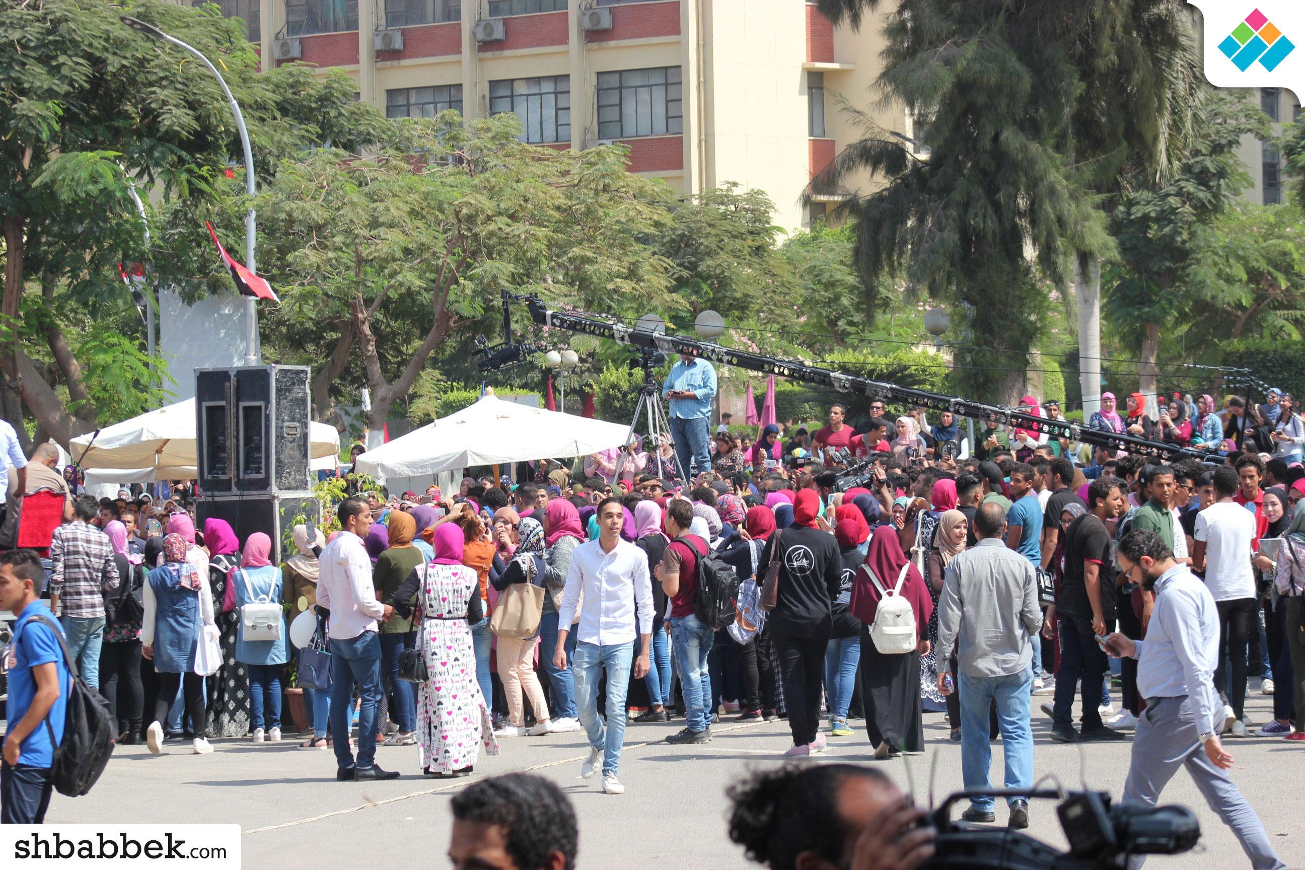 حفل استقبال طلاب عين شمس الجدد